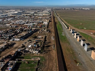 Trump's wall prototypes to come down along U.S.-Mexico border