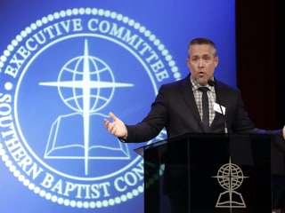 Southern Baptist president says database of sexual abusers possible