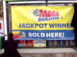 Nearly two dozen New York co-workers claim $437M Mega Millions jackpot