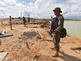 Peru cracks down on illegal gold mining to save deforested Amazon area