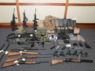 Coast Guard officer accused of stockpiling guns, compiling hit list may be released before trial