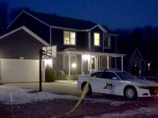 Indiana state trooper shot inside his home, son detained on attempted murder charge