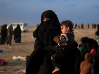 ISIS families, supporters remain devoted as last Syrian territory falls