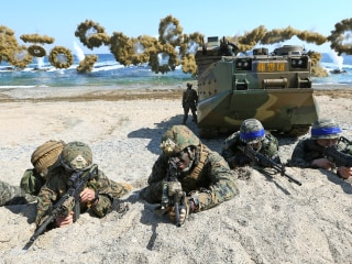 U.S. announces end to large-scale military drills with South Korea as Trump pursues nuclear diplomacy