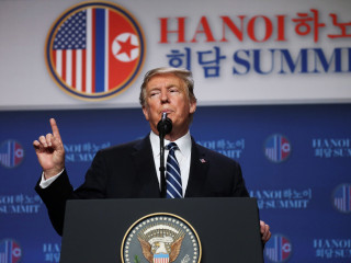 North Korea nuclear summit ends abruptly with no deal