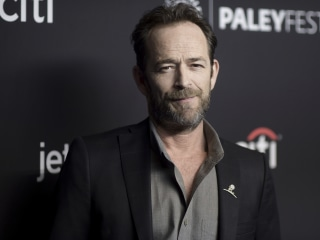 Luke Perry hospitalized in California