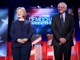 Clinton, Sanders camps feuding like it's still 2016