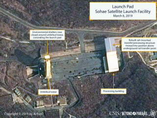 New photos show North Korea rocket site back to 'normal operating status'