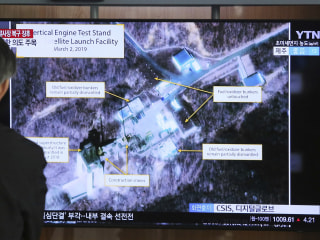 North Korea rocket site is being monitored 'in real time,' U.S. official says
