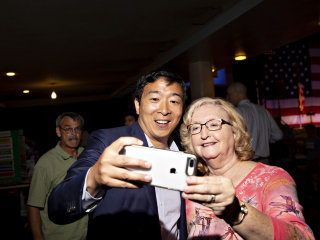 Meet Andrew Yang: A 'fairly normal guy' running for president on a radical platform
