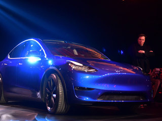 Elon Musk rolls out Model Y, completing Tesla's 'S3XY' lineup