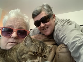 'Old fat lesbians' who smoke pot find captive Instagram audience
