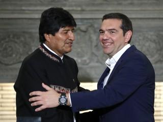 Greece backs Bolivia's call for Venezuela dialogue