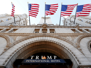 Federal judges grill lawyers who claim Trump violating emoluments clause