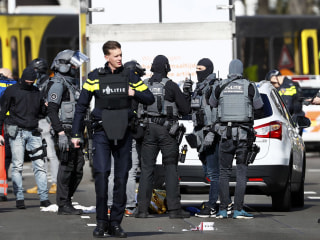 Utrecht shooting: Third suspect detained after killing of 3 on tram in Dutch town