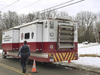 Massachusetts man allegedly killed wife and kids before setting house on fire