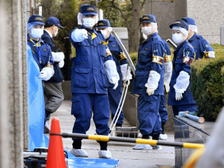 American man arrested for allegedly stabbing wife at Tokyo court before divorce hearing