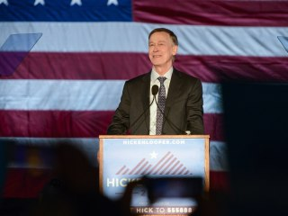 Dem candidate Hickenlooper explains why he watched an X-rated movie with his mom