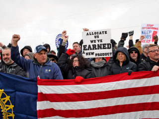 Factory workers at GM see layoffs, not benefits, after tax cuts