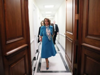 Pelosi's first 100 days as speaker feature 'high marks,' a few hiccups