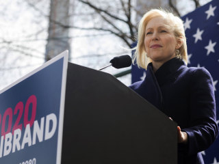 Gillibrand officially launches 2020 bid, calls Trump a 'coward'