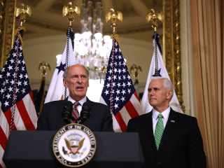 Mike Pence talked Dan Coats out of quitting the Trump administration