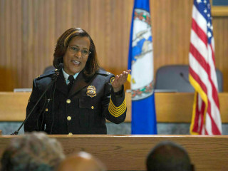 Virginia's first black female police chief says she was forced to resign