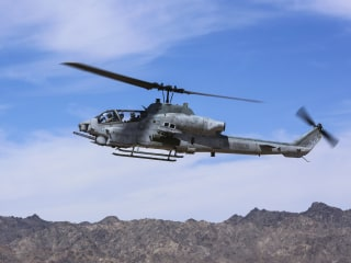 Two Marine helicopter pilots killed in training crash