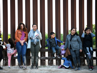 Border crossings by undocumented migrants in March hit 12-year high