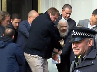 WikiLeaks' Julian Assange arrested in London; U.S. seeks extradition on hacking charges