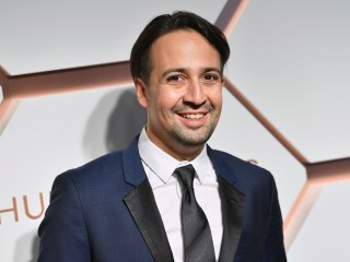 Lin-Manuel is 'in love' with the cast of new 'In The Heights' film