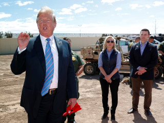 Report: Trump told acting DHS head he'd pardon him if he were sent to jail for closing the border