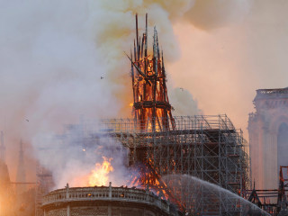 Live coverage as massive fire tears through Paris' Notre Dame Cathedral