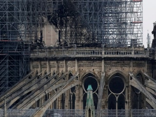 Notre Dame Cathedral fire fully extinguished after 9 hours