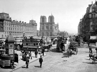 Iconic Notre Dame Cathedral through history