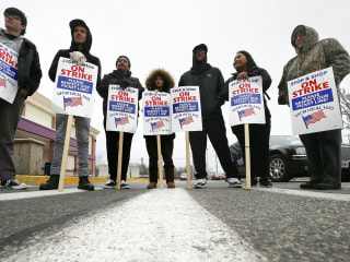 New England Stop & Shop strike enters ninth day, as stores sit empty and unstocked