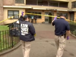 Young woman dead, another injured, baby found unharmed in bizarre Brooklyn scene