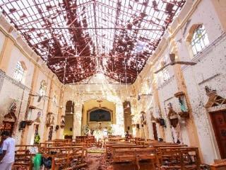 Sri Lanka blocks social media after Easter Sunday bombings