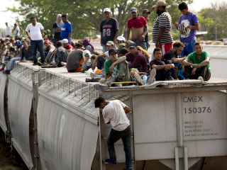 In Mexico, migrants are once again hopping onto 'The Beast' despite dangers