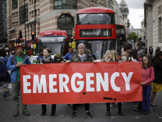 Extinction Rebellion protests win political attention in the U.K.