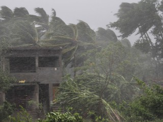 Cyclone Fani hits coast of eastern India with 124 mph gusts