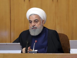 'Iran will not wage war' says country's president