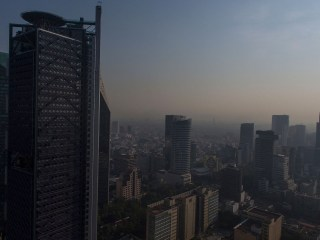 Mexico City's residents are engulfed in a thick haze of air pollution