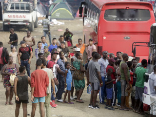 Panama sees surge in migrants crossing dangerous Darien Gap