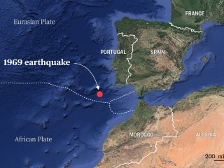 Odd 'peeling' tectonic plate may explain Portugal's mysterious earthquakes
