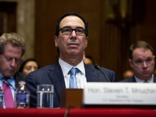 Treasury Dept. refuses to comply with Democrats' subpoenas for Trump tax returns, court fight likely
