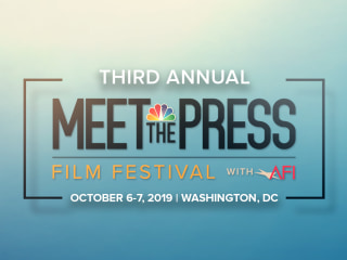 Third Annual 'Meet the Press Film Festival with AFI' returns