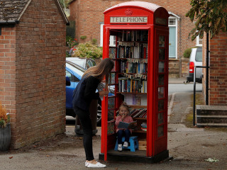 Britain's red phone boxes now stores, restaurants and even a photo booth
