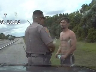 Shirtless Florida man steals cruiser, leads troopers on 149 mph chase