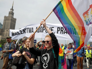 Polish towns go 'LGBT free' ahead of bitter European election campaign